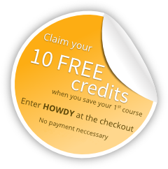 Claim 10 free credits with promo code HOWDY